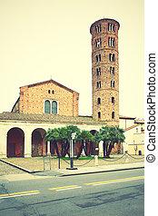 Basilica di Sant Apollinare Nuovo in Ravenna (6th century),...