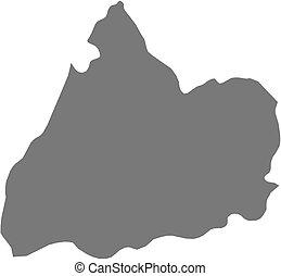 Map - Cotopaxi (Ecuador) - Map of Cotopaxi, a province of...