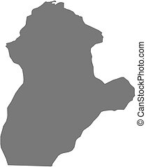 Map - Cordoba (Colombia) - Map of Cordoba, a province of...