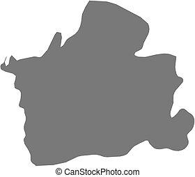 Map - El Oro (Ecuador) - Map of El Oro, a province of...