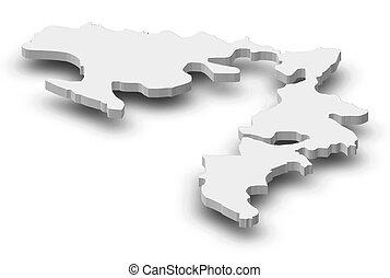 Map - Republika Srpska (Bosnia and Herzegovina) -...