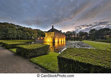 Verhildersum fortified house - Verhildersum castle or borg...