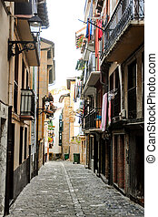 Town of Getaria Basque Country Spain - Photo picture...