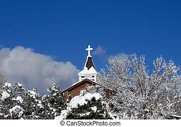 Catholic Mission in New Mexico - Catholic Mission is covered...