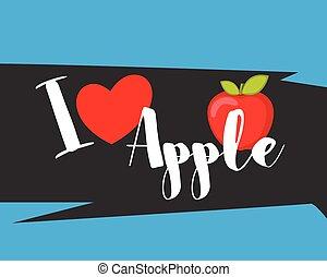 mensagem, Amor, maçã