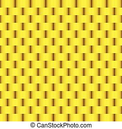 Weave Gold Seamless Pattern