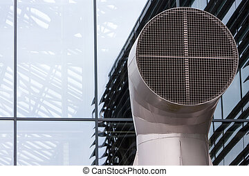 Industrial air ventilation system in the Netherlands