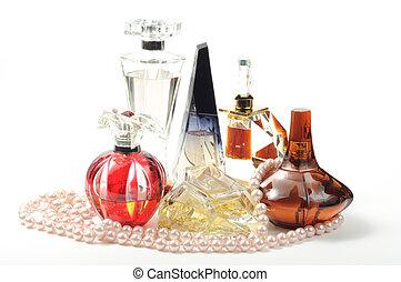 mujer, Perfumes