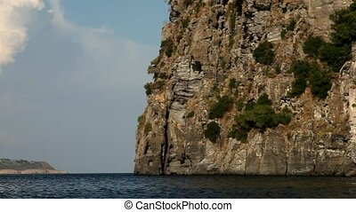 Castle On Rock, Ocean, Ischia