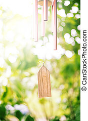 Closeup of Wind Chime