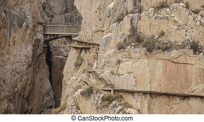 'El Caminito del Rey' loopable time lapse - Loopable time...