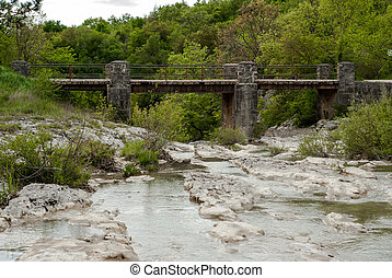 Mirna river in Kotli, Istra, Croatia - Photo of Mirna river...