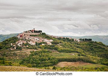 Famous Motovun, Istra, Croatia - Photo of Famous Motovun,...