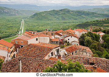 Famous Motovun, Istra, Croatia - Photo of Famous Motovun,...