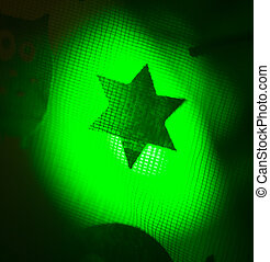 Halloween star party trick or treat - Halloween ghost star...