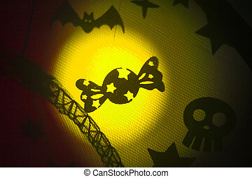 Halloween candy party trick or treat - Halloween ghost candy...