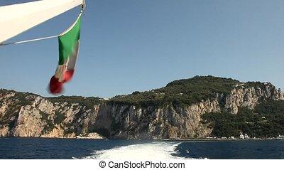 Boat Trip, Capri, Italy