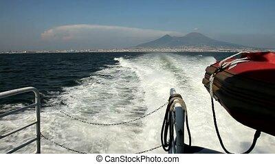 Boat Trip, Napoli, Italy