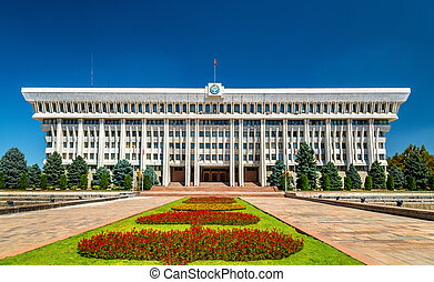 Parliament of the Kyrgyz Republic in Bishkek - The...