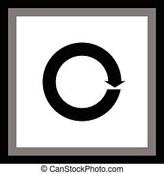 rotation arrow