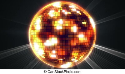 """mirror disco ball"""