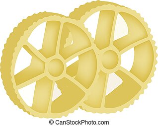 pasta type and shape of a wheel