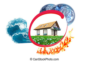 Home insurance against disaster and damage
