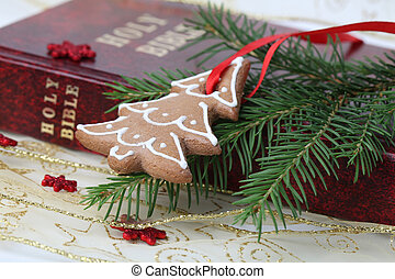 Christmas gingerbread and the Bible