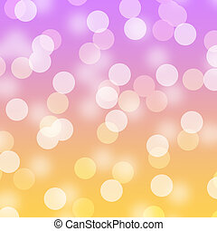Bright Upbeat Happy Bokeh - Bright blurred abstract bokeh...