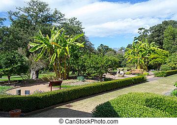 Walking in the Royal botanical gardens