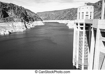 Lake Mead from the dam