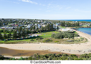 Port Campbell in the grat Ocean Road - Great Ocean Road is a...