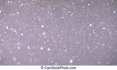Foam bath tub. 4K close up shot - Foam bath tub. 4K close up...