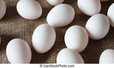 fresh white large raw eggs - Plenty of fresh white large raw...