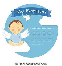 Baptism boy