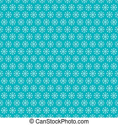 Seamless Snowflakes Pattern. Vector Winter Background.