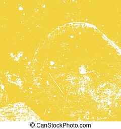 Yellow Distressed Texture - Distressed Grunge Yellow color...