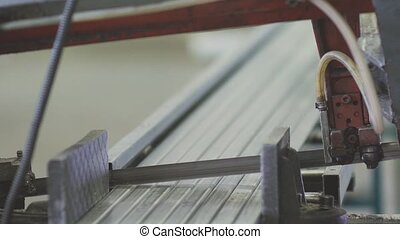 Automated machine for cutting steel structures - Production...