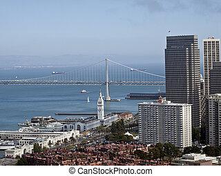San Francisco and Bay Bridge - San Francisco and the Bay...
