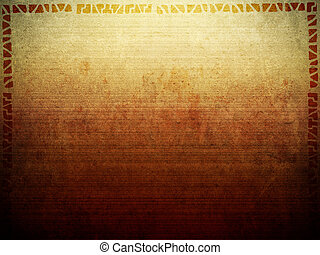 Tribal Background Texture - A background texture image with...