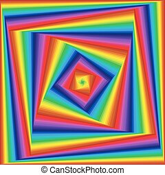 Twisted sequence with spectrum square forms - Concentric...