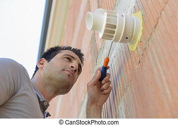 Repair air vent