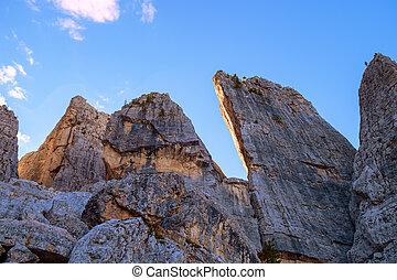 Cinque Torri Dolomites, Italy - Cinque Torri Dolomites...