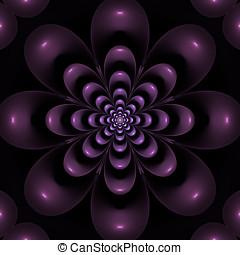 floral, Papel parede,  fractal