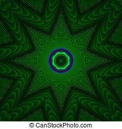 loucos,  fractal, Composição
