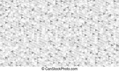 Grey glitter triangles mosaic technical video animation -...