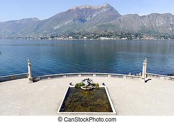 Gardens of Villa Melzi on Lake Como