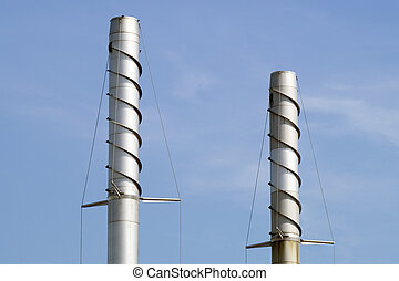 chimneys