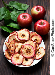 Dehydrated fruits, apple chips - Dehydrated fruits apple...