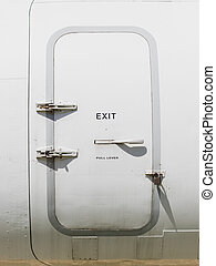 Emergency exit door